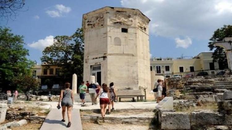 برج الرياح اليوناني القديم لا يزال يكتم أسراره