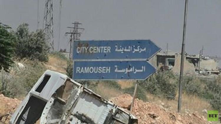 استمرار الاشتباكات جنوب حلب والجيش يتقدم في منطقة الـ 1070