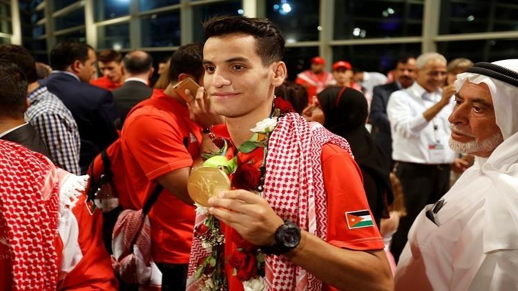 الأردن يمنح مكافأة مالية لبطل التايكواندو في الألعاب الأولمبية بريو
