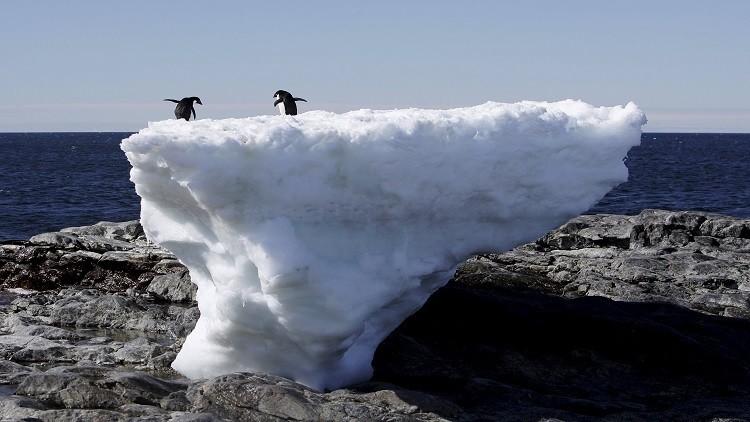 ظاهرة رائعة في القطب الجنوبي إلا أنها مقلقة!