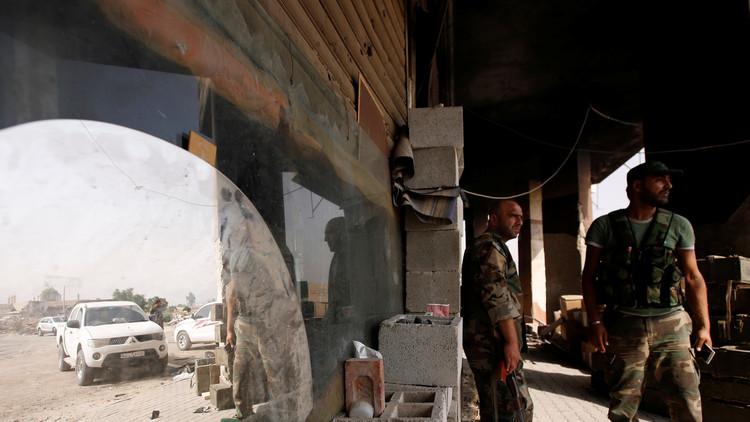 إطلاق  9 عسكريين سوريين من أصل 18 محتجزين بداريا