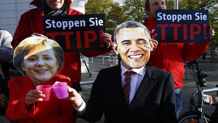 فشل محادثات التجارة الحرة بين بروكسل وواشنطن