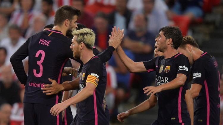 برشلونة ينجو من كمين الباسك