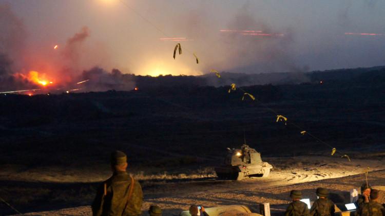 دعوة الملحقين العسكريين الأجانب لحضور تدريبات القوقاز