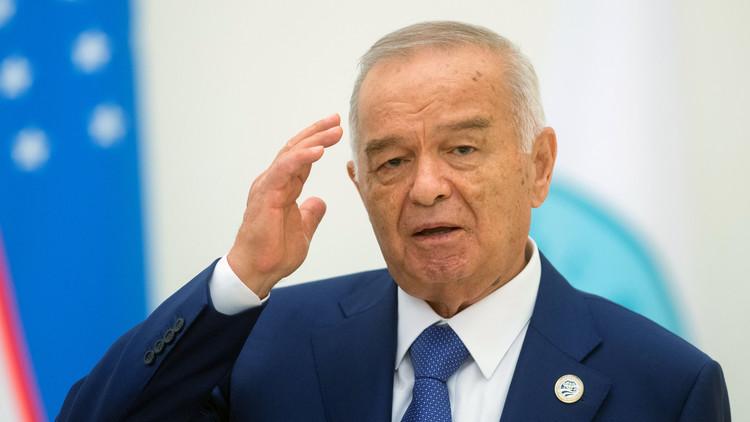 حالة الرئيس الأوزبكي