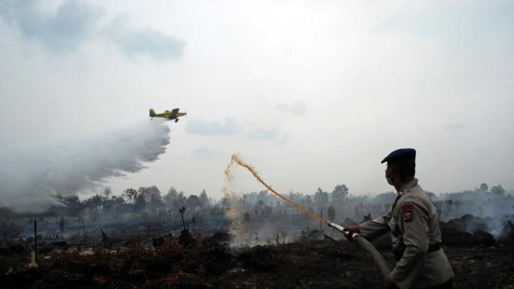 إندونيسيا تحذر من خطر تلوث الجو بسبب الحرائق