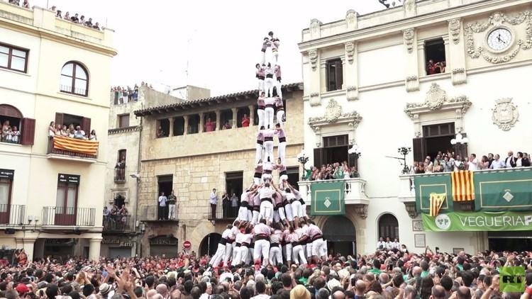 مسابقة الأبراج البشرية في كاتالونيا