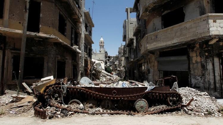 الجيش السوري يوافق على خروج المسلحين من الوعر في حمص