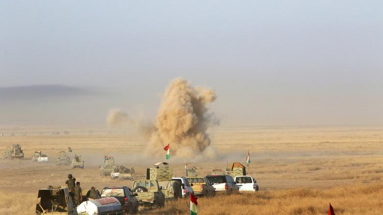 بايدن يبحث مع بارزاني عملية تحرير الموصل