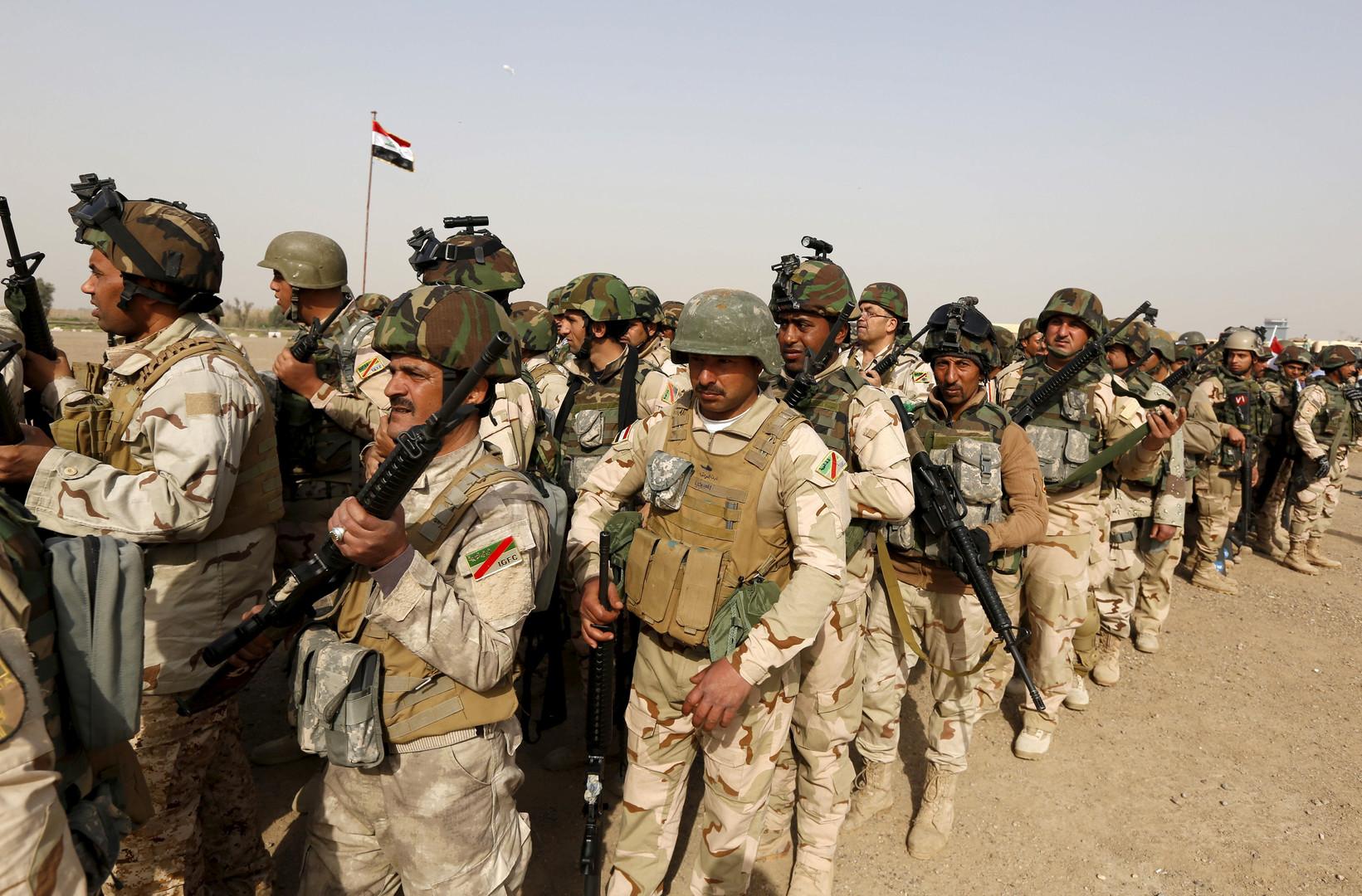 قوات عراقية حول الموصل