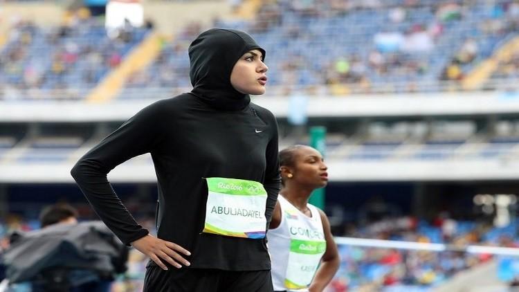 العداءة السعودية المشاركة في ريو 2016