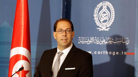 رئيس الحكومة التونسية المكلف يوسف الشاهد