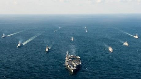 قطع بحرية عسكرية في بحر الصين الجنوبي - أرشيف