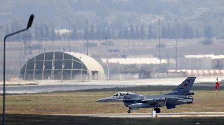 طائرة حربية تركية