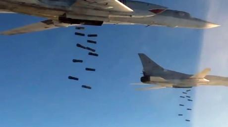 """""""تو-22 إم 3"""" تضرب """"داعش"""" في محيط تدمر. صورة من الأرشيف"""