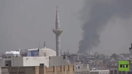 غارات متواصلة للتحالف العربي في اليمن