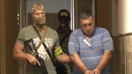 أحد عناصر الخلية التخريبية في قبضة الأمن الروسي