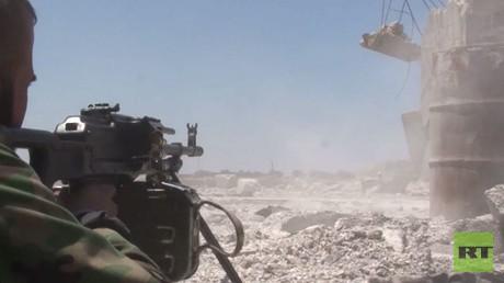 الجيش السوري يتصدى لهجوم شمال غرب حلب