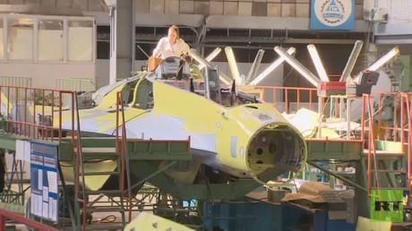 مقاتلات ميغ 35 طور التصنيع  وجاهزة في الخريف المقبل