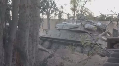عمليات الجيش السوري في الغوطتين