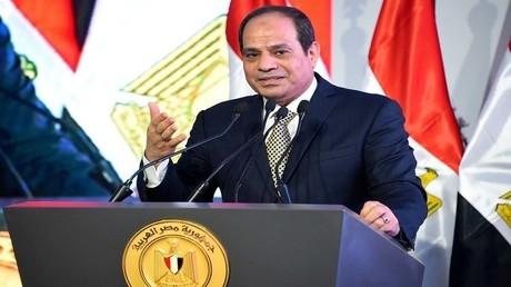 أرشيف - الرئيس المصري عبد الفتاح السيسي
