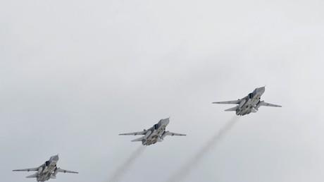 الطائرات الروسية في سناء سوريا تحلق دون أي قيود
