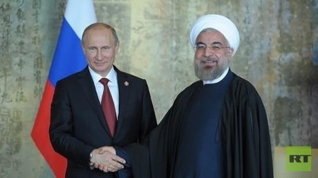 الرئيس الروسي و نظيره الايراني