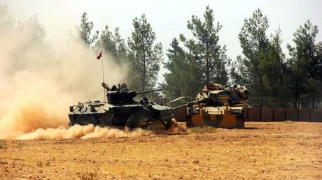 العملية العسكرية التركية في شمال سوريا
