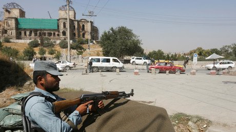 الشرطة الأفغانية في كابل