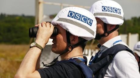 مراقبان من البعثة التابعة لمنظمة الأمن والتعاون في أوروبا