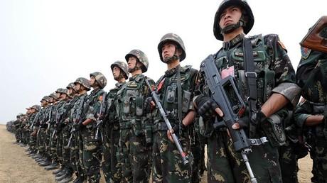 عناصر من القوات الصينية