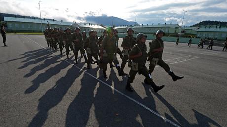 القاعدة الروسية بأوسيتيا الجنوبية.. صورة أرشيفية