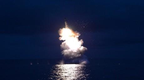 إطلاق كوريا الشمالية صاروخ ذاتي الدفع استراتيجي من غواصة بيونج يانج - 25 أغسطس 2016