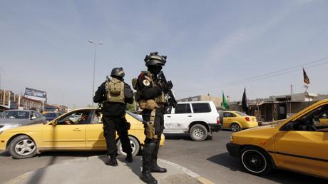 دورية للشرطة في بغداد - صورة من الأرشيف