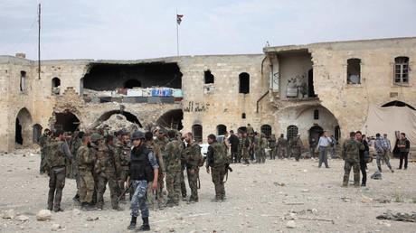 وحدة في الجيش السوري