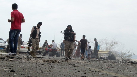 انفجار في عدن (صورة من الأرشيف)