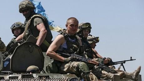 عناصر في الجيش الأوكراني - صورة أرشيفية