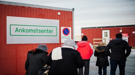 لاجئون في أحد مراكز الإيواء في شمال النرويج