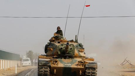دبابو تركية في سوريا