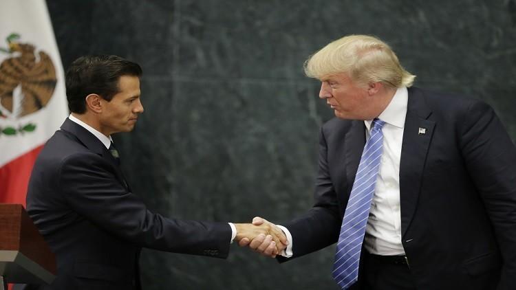 ترامب: المكسيك ستسدد تكلفة بناء الجدار الحدودي فيما بعد