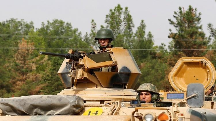 الجيش التركي يطرد المسلحين من 3 بلدات سورية