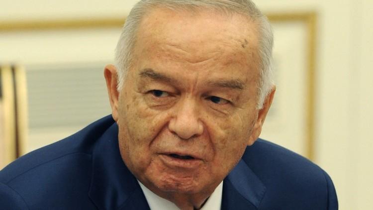 رئيس أوزبكستان في حالة