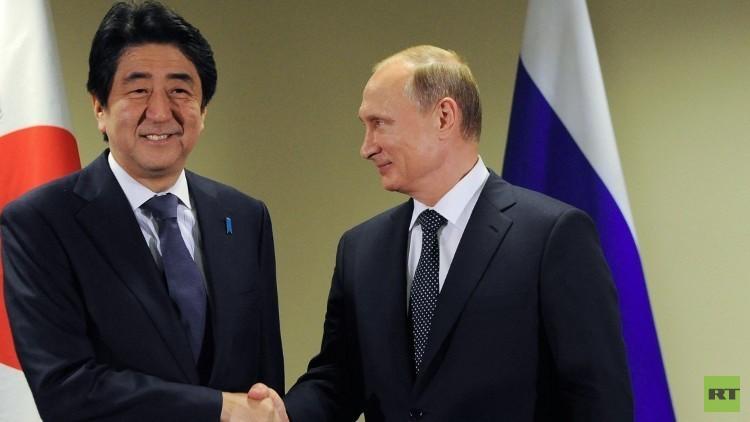 بوتين يلتقي مع آبي في اليابان يوم 15 ديسمبر