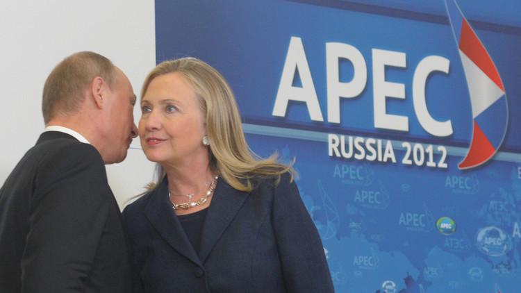 بوتين: إذا أرادت كلينتون التخلص مني فسأتجاوز هذه المحنة!