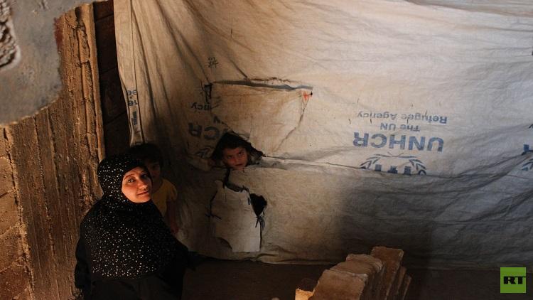 سكان الـ 1070 في حلب.. ظروف نزوح قاسية وأمل بالعودة