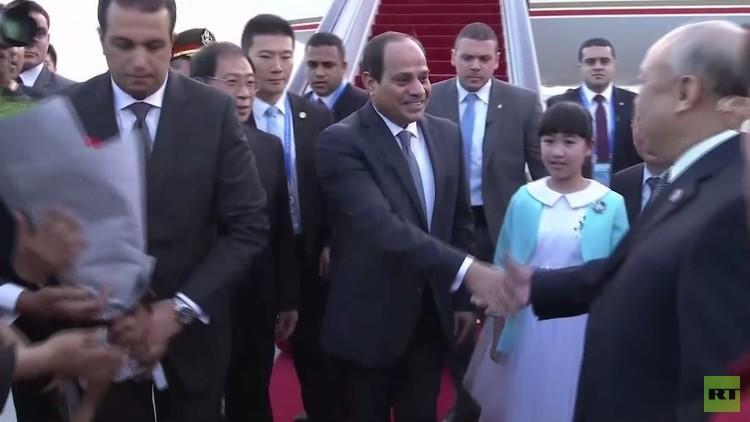 السيسي يصل الهند لحضور قمة العشرين