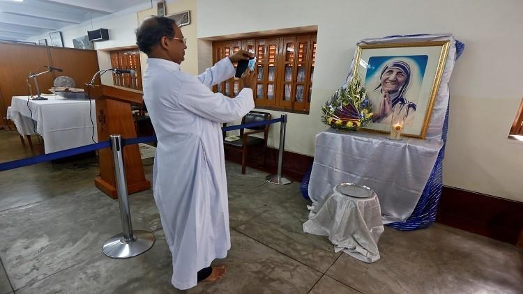 مراسم منح الأم تيريزا لقب قديسة