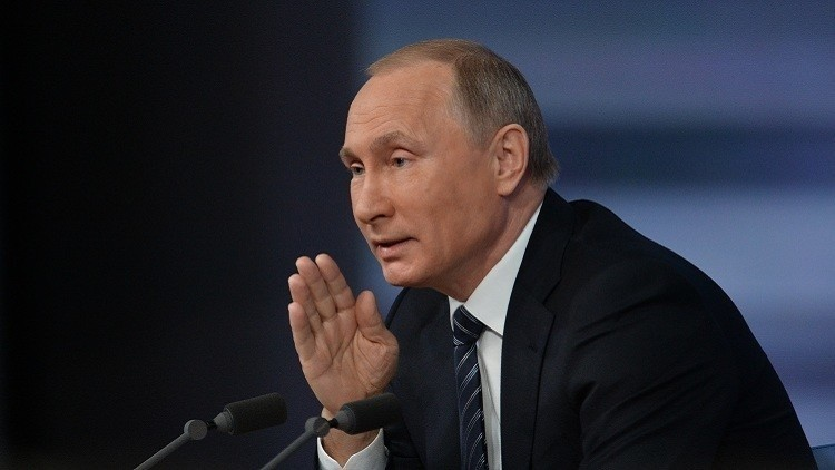 بوتين: روسيا ساعدت في المحافظة على سوريا كدولة