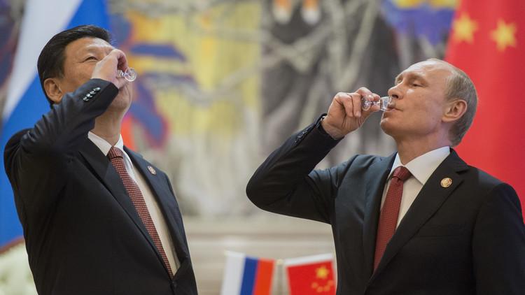 بوتين يقدم للرئيس الصيني هدية