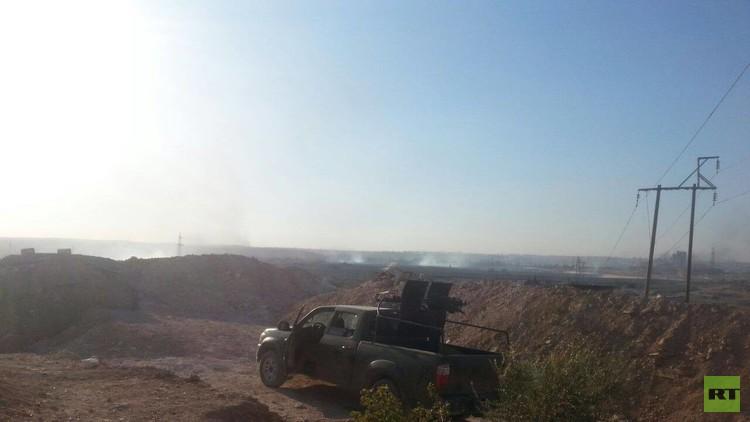 الجيش السوري يسيطر على تجمع الكليات جنوب حلب
